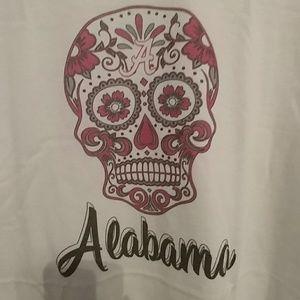 Alabama Sugar Skull tshirt